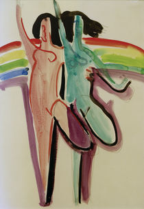 E.L.Kirchner / Two Dancers by AKG  Images