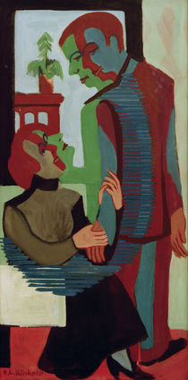 E.L.Kirchner . Mother and Son by AKG  Images