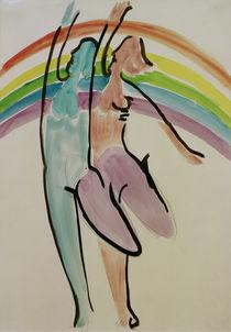 E.L.Kirchner, Zwei Tänzerinnen von AKG  Images