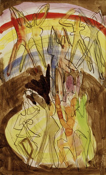 E.L.Kirchner / Colour Dance (Reverse) by AKG  Images