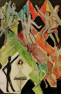 E.L.Kirchner / Colour Dance / Sketch by AKG  Images