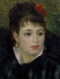 A.Renoir, Woman with Rose by AKG  Images