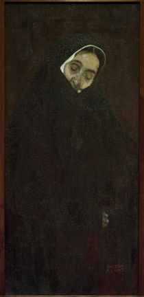 G.Klimt, Old Woman / Painting / 1909 by AKG  Images