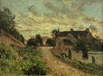 A.Sisley, Un chemin à Louvecienne von AKG  Images