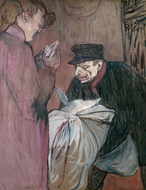 Toulouse-Lautrec, Launderer / Paint. by AKG  Images