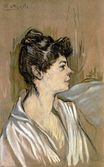 H. de Toulouse-Lautrec, Marcelle / Paint./ 1894 by AKG  Images