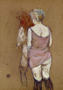 Toulouse-Lautrec, Two semi-nude Women / 1894 by AKG  Images