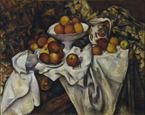 Cezanne / Still life with apples.../c. 1895 by AKG  Images