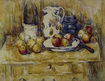 P.Cézanne, Äpfel auf einem Geschirrbord von AKG  Images