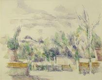 P.Cézanne, Gartenterrasse in Les Lauves von AKG  Images