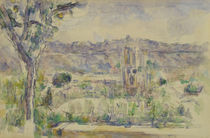 Paul Cézanne, Die Kathedrale in Aix von AKG  Images