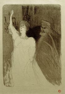 Sophokles, Antigone, de Toulouse-Lautrec von AKG  Images
