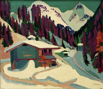 Ernst Ludwig Kirchner / Wildboden in the Snow. by AKG  Images