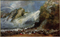 J. M. W. Turner / Fall of the Rhine at Schaffhausen by AKG  Images
