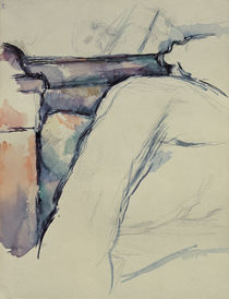 P.Cézanne, Detail study of unmade bed by AKG  Images