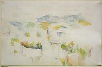 Cézanne / Mountains near Aix-en-Provence by AKG  Images