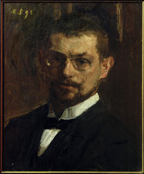 Max Slevogt, Selbstbildnis 1893 by AKG  Images