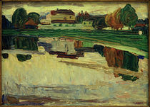 W.Kandinsky, Nymphenburg / Gemälde, 1904 by AKG  Images