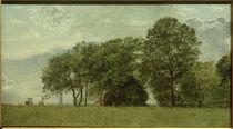 Chr. Köbke, Der Wall des Kastells auf der zur Stadt gewandten Seite by AKG  Images