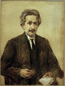 Albert Einstein / Gemälde von Liebermann von AKG  Images