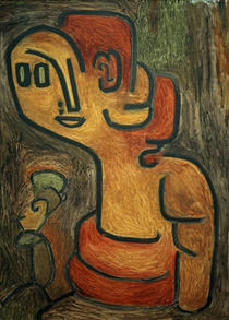 P.Klee, Bust of Gaia / 1939 by AKG  Images