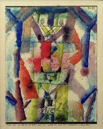 P.Klee, Es soll sich der Herr auf uns, nicht wir auf ihn verlassen / 1918 by AKG  Images