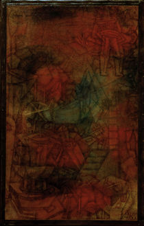 P.Klee, (Theatre) Rehearsal / 1925 by AKG  Images