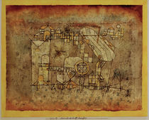 P.Klee, Arrival of the Air Steamer/1921 by AKG  Images