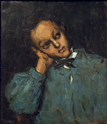 Cézanne / Boy leaning on his hand by AKG  Images