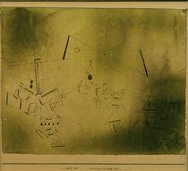 P.Klee, Kosmische und irdische Zeit von AKG  Images