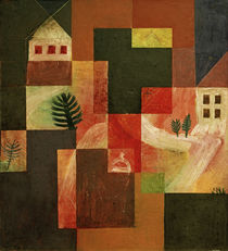 P.Klee, Chorale and Landscape / 1921 by AKG  Images