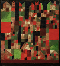P.Klee, Cityscape / Paint./ 1921 by AKG  Images