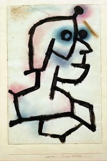 P.Klee / Krieger Stahlblick / 1939 by AKG  Images