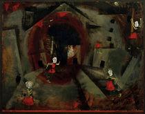 P.Klee / Tanzspiel der Rotröcke / 1924 by AKG  Images