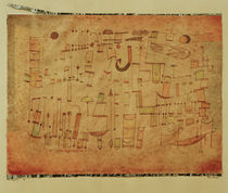 P.Klee, Inscription / 1921 by AKG  Images