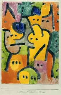 Paul Klee, Mädchenklasse im Freien by AKG  Images