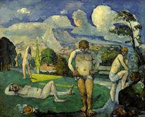 P.Cézanne, Les baigneurs au repos von AKG  Images