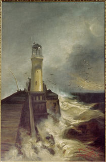 W.Leistikov, Mole with Lighthouse by AKG  Images