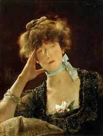 Sarah Bernhardt / Gemälde von Alfred Stevens von AKG  Images