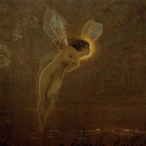 J.A.Grimshaw, Iris / painting by AKG  Images