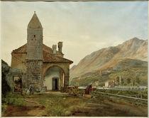 R. von Alt, Das Franziskanerkloster im Omblatal bei Ragusa von AKG  Images