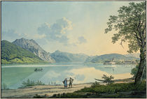 Traunsee / Aquarell von Jakob Alt by AKG  Images