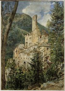 Taufers, Burg Taufers  / Aquarell von R. von Alt von AKG  Images