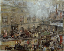 R. von Alt, Die Eisengießerei Kitschelt in der Skodagasse in Wien von AKG  Images