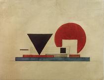 I. G. Tschaschnik, Projekt eines Bücherkiosks von AKG  Images