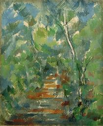 P.Cézanne, Waldweg in der Provence von AKG  Images