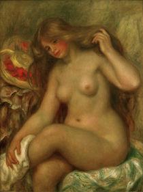 Renoir / Bathing Woman with Legs Crossed by AKG  Images