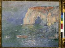 Monet, Etretat, Manneporte, Reflets by AKG  Images