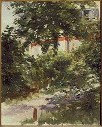 Manet / House in the Foliage / 1882 by AKG  Images