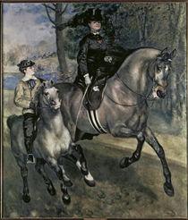 Renoir / Rider in Bois de Boulogne by AKG  Images